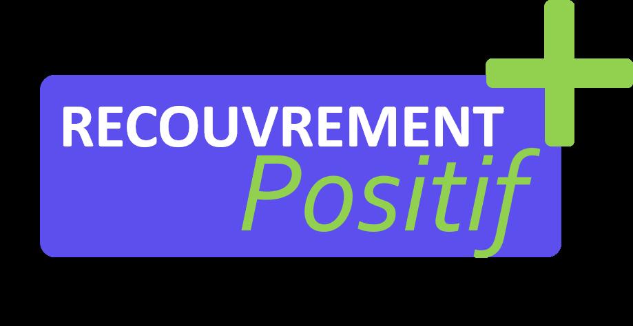 Logo recouvrement positif