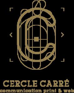 Logo agence cercle carré