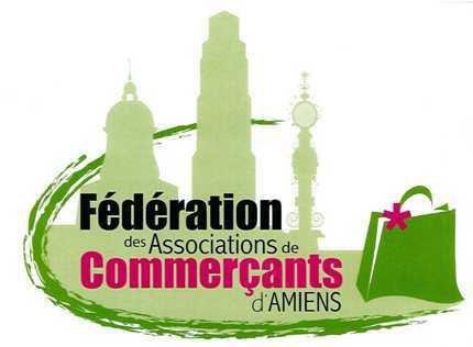 Logo Fédération commerçants Amiens